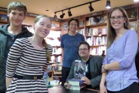 Signing with Brandon Sanderson