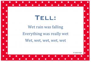 Telling haiku