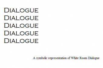 White Room Dialogue