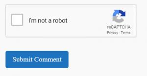 I am not a robot (Google recaptcha plug-in)